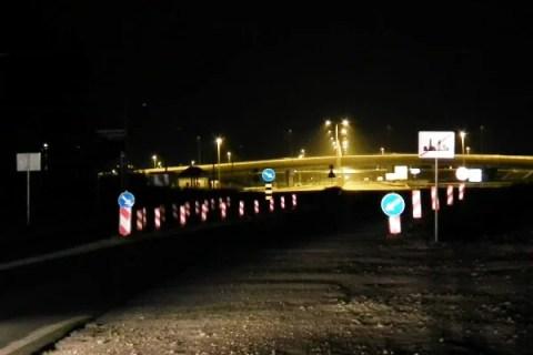 Postavljena signalizacija kod petlje Zbeg - 2015