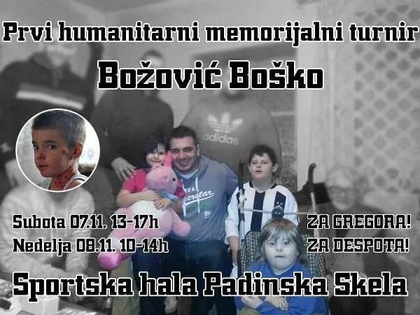"""Prvi humanitarni memorijalni turnir """"Božović Boško"""" u Padinskoj Skeli-2015"""