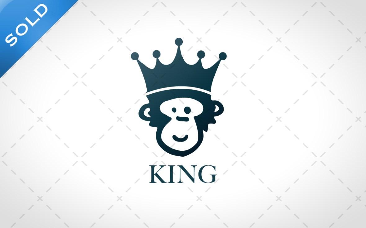 king monkey logo for sale
