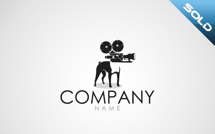 media dog logo for sale