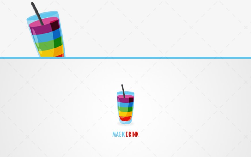 Magic Drink Logo For Sale