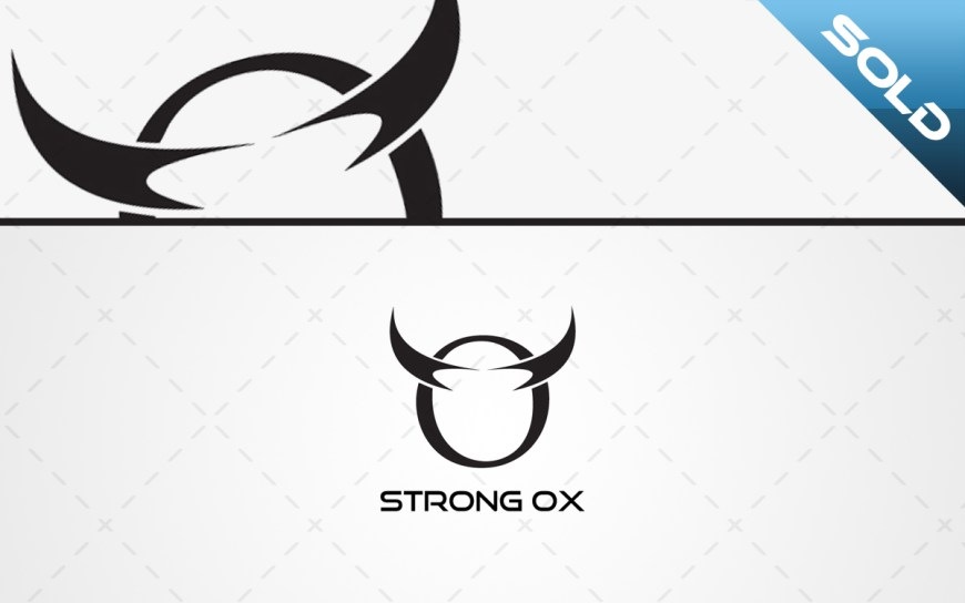 clean ox logo for sale