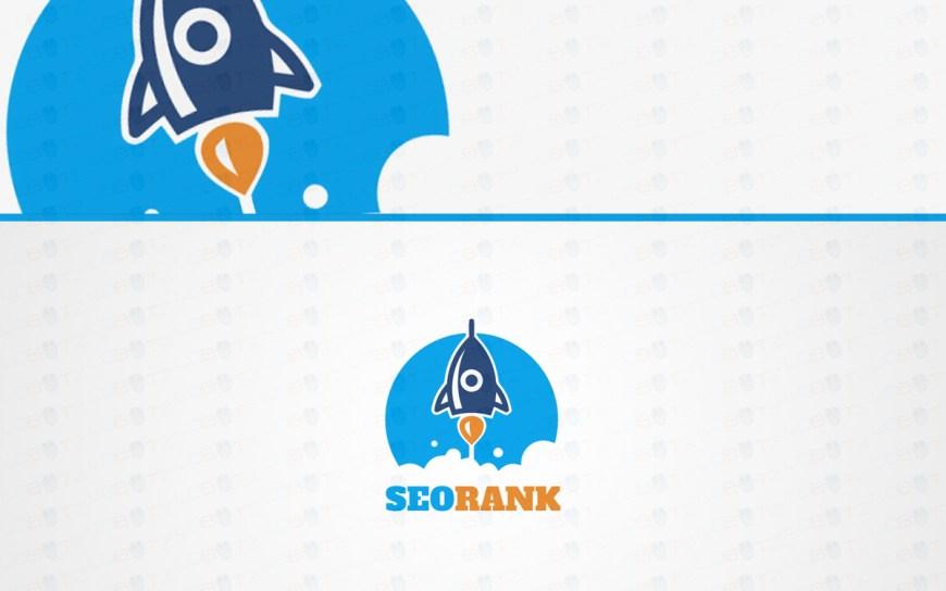 premade rocket logo for sale