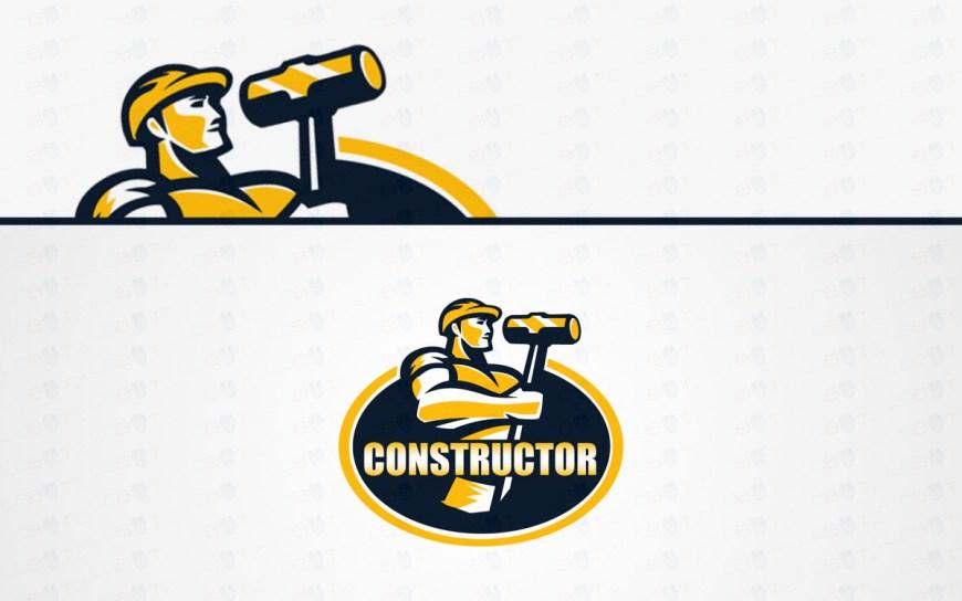 constructor handyman logo sale