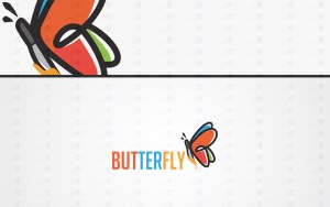 Butterfly Logo For Sale