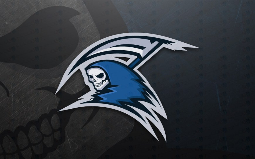 Reaper Mascot Logo For Sale