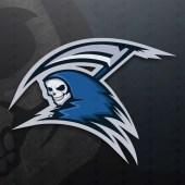 Reaper Mascot Logo | Grim Reaper eSports Logo For Sale