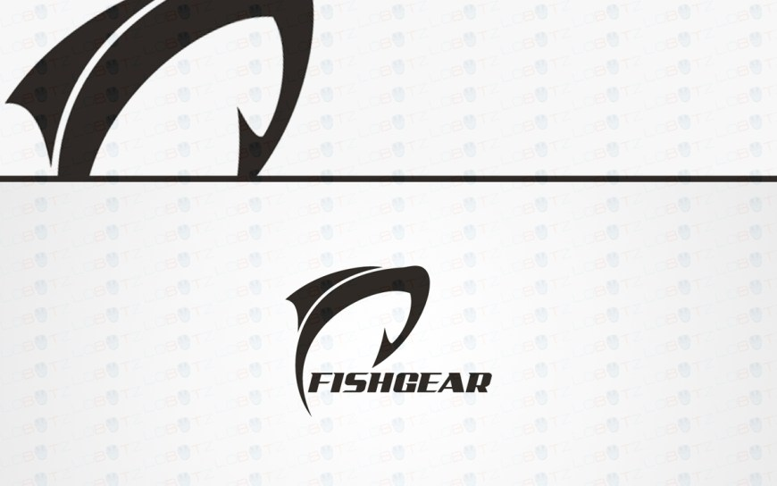 fishing logo for sale