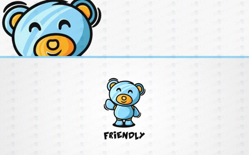 teddy bear logo to buy online