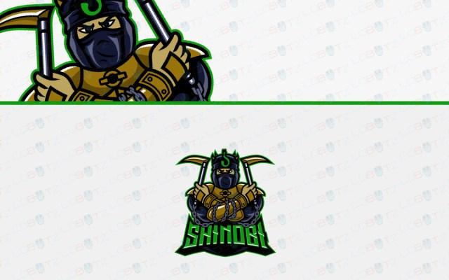 esports shinobi logo for sale
