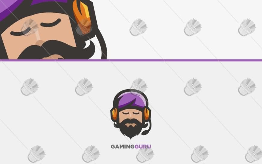 gamer guru gaming logo for sale