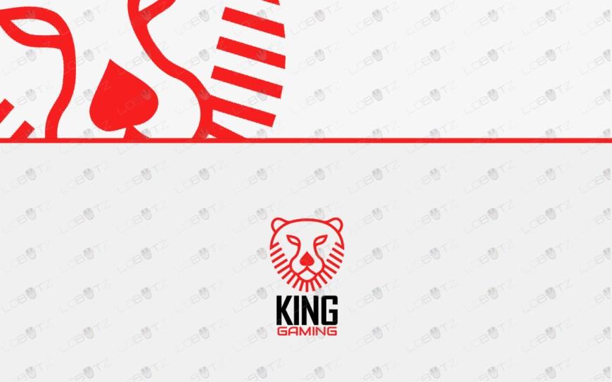 Lion head logo for sale king logo