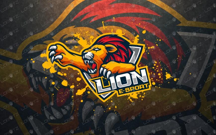 lion esportslogo lion mascot logo premade