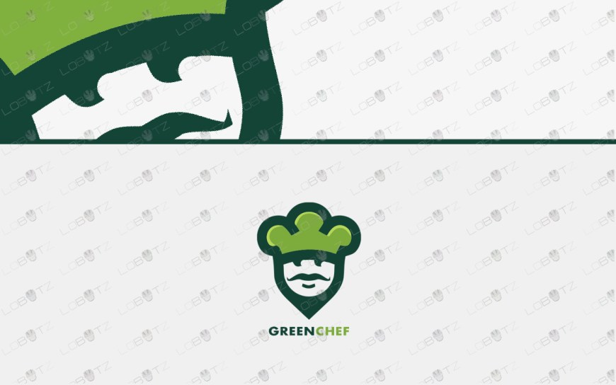 green chef logo for sale