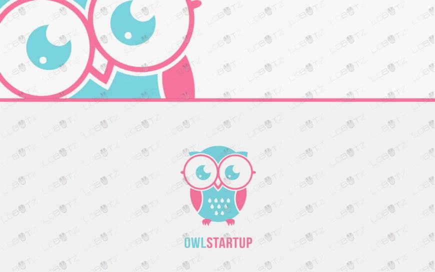 owl logo for sale premade logos