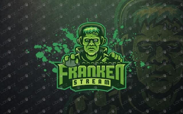 frankenstein gamer mascot logo frankenstein gamer esports logo