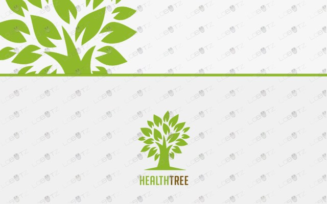 tree logo for sale premade tree logo