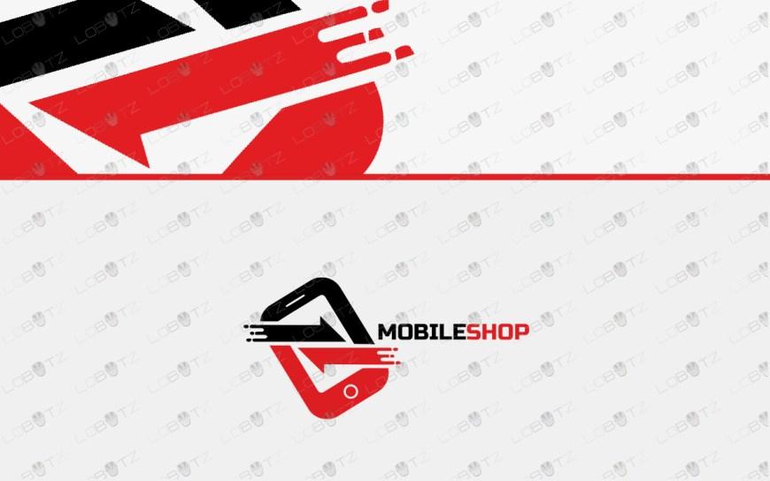 mobile shoplogo for sale