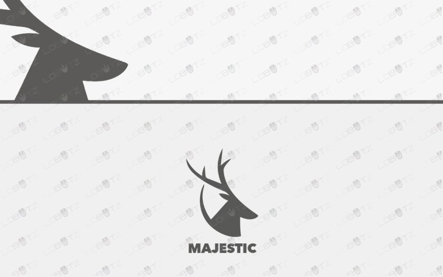 premade logo deer logo for sale premium logo