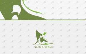 premium yoga logo for sale premade