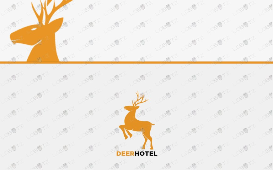 deer logo for sale premade logos