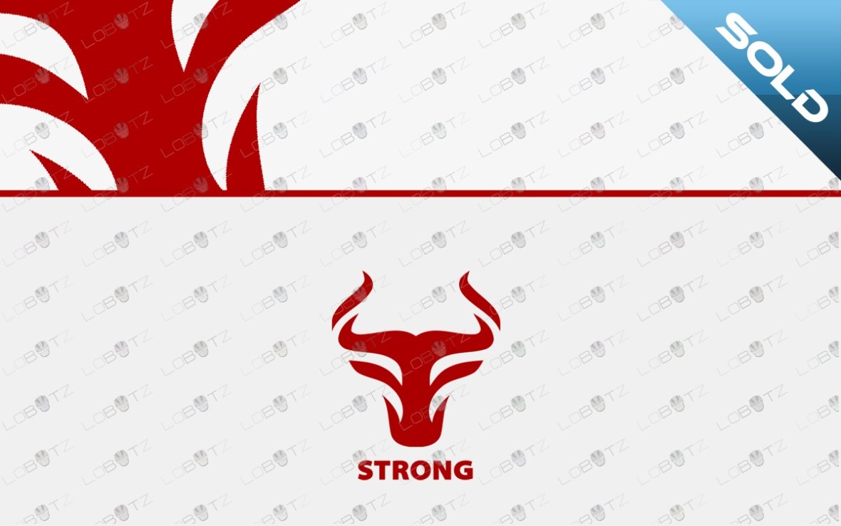 bull headlogo for sale