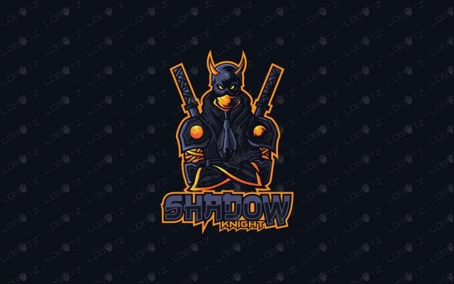 shinobi mascot logo for sale ninja mascot logo samurai mascot logo premade logo