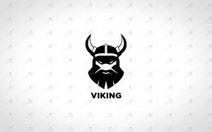 Viking Logo For Sale king logo premade logo