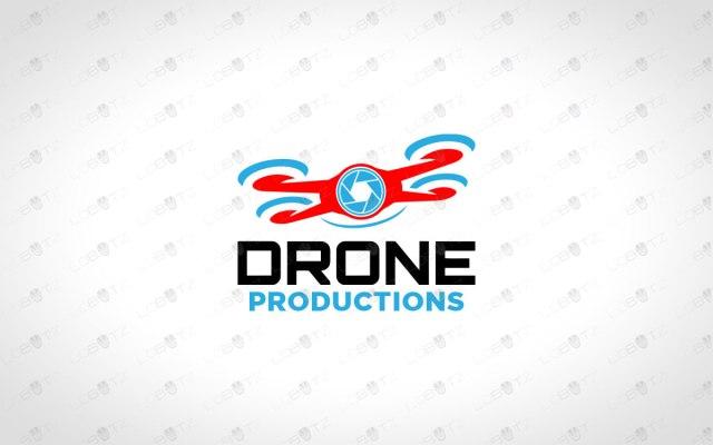 drone logo for sale premade drone logo
