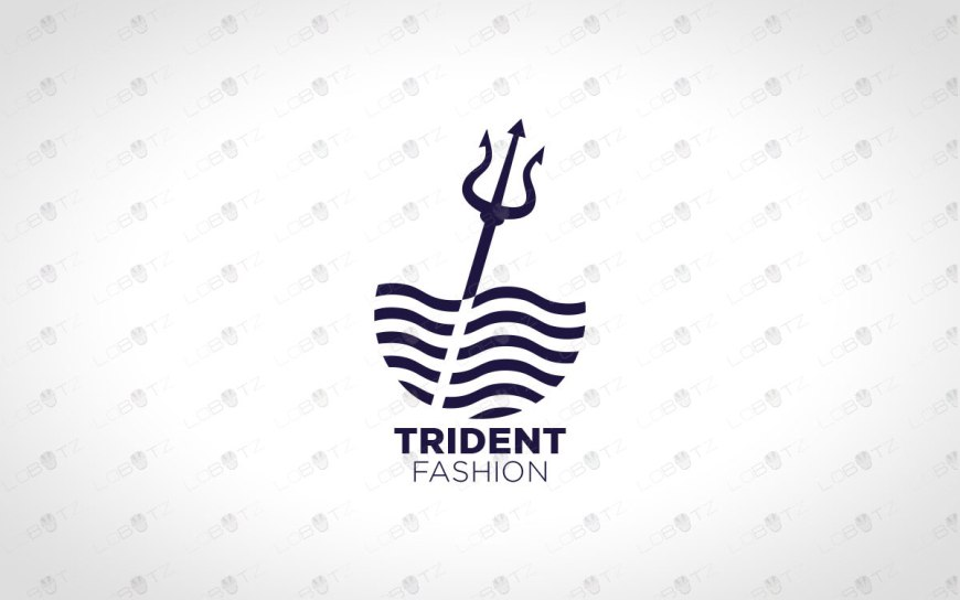 trident logo for sale premade business logo company logo