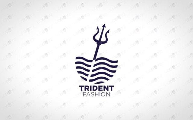 trident logo for sale premade business logo company logo