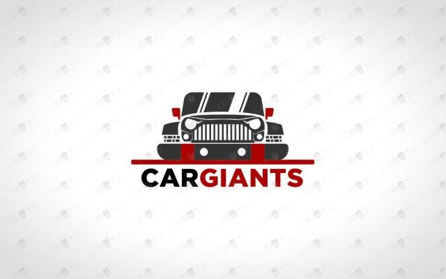 Car Logo For Sale | Premade Jeep Logo