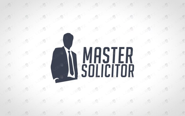 Solicitor Logo For Sale | Premade Business Logo