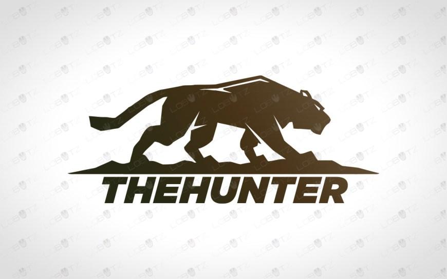premade leopard logo for sale