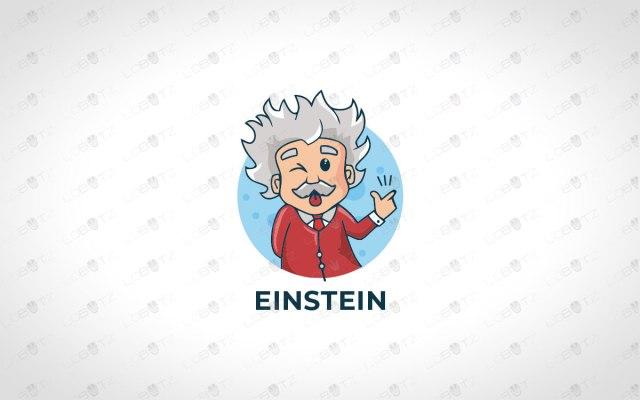 Einstein logo for sale genius logo for sale