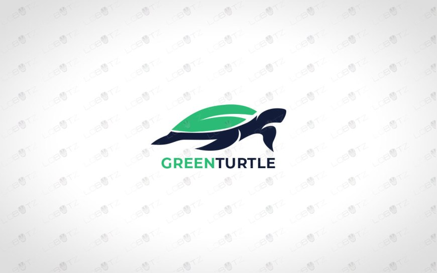 green turtle logo for sale premade logos