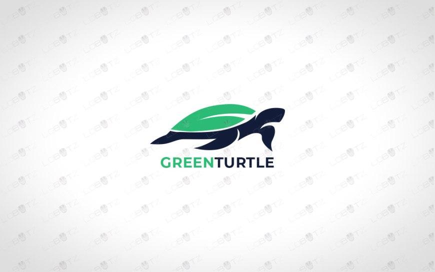 green turtle logo for sale premade logos