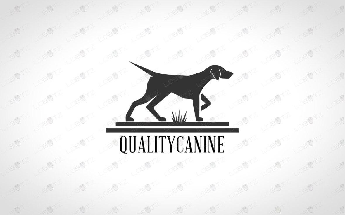 Hunting Dog Logo For Sale