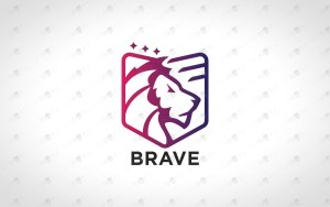 Premade Minimalist Lion Logo Royal Lion Logo For Sale
