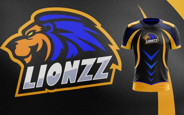 Lion Mascot Logo   Lion eSports Logo For Sale Premade Logos