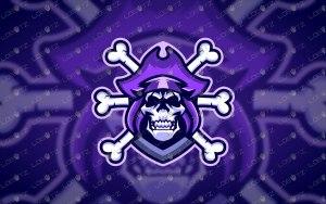 Skull Mascot Logo For Sale Skull eSports Logo