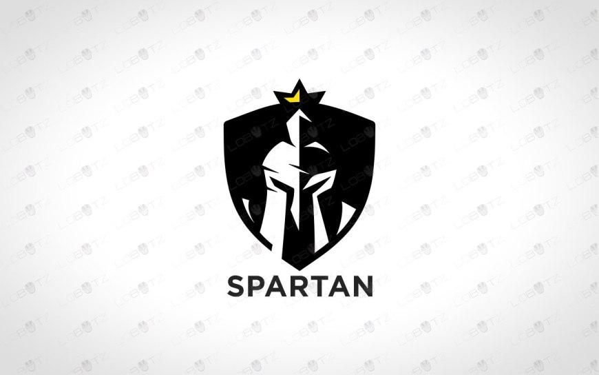 Spartan Head Logo | Spartan Logo For Sale | Gladiator Logo