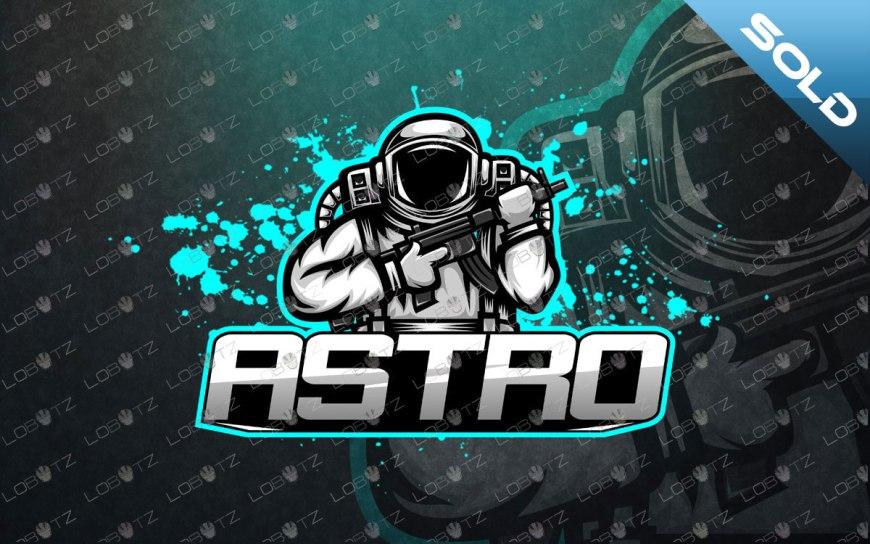 astronaut esports logo astronaut mascot logo premade logos