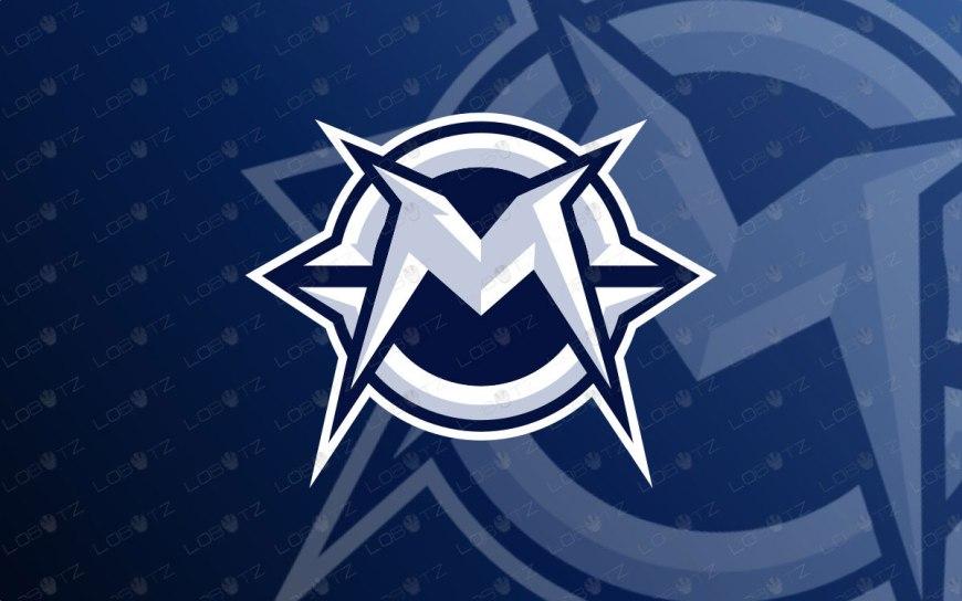 Letter M Mascot Logo For Sale   Mechanical M Logo