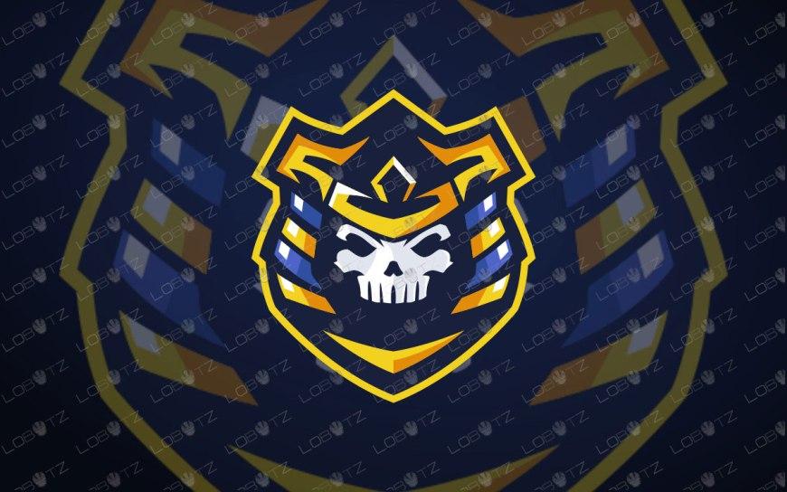 Skull Pharaoh Mascot Logo For Sale   Skull Pharaoh eSports Logo