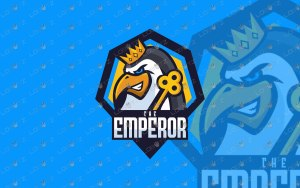 Emperor Penguin Mascot Logo For Sale   Penguin eSports Logo