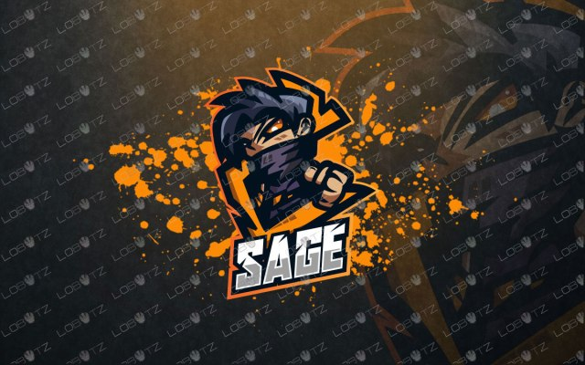Spectacular Ninja Mascot Logo Ninja eSports Logo For Sale Premade Logos
