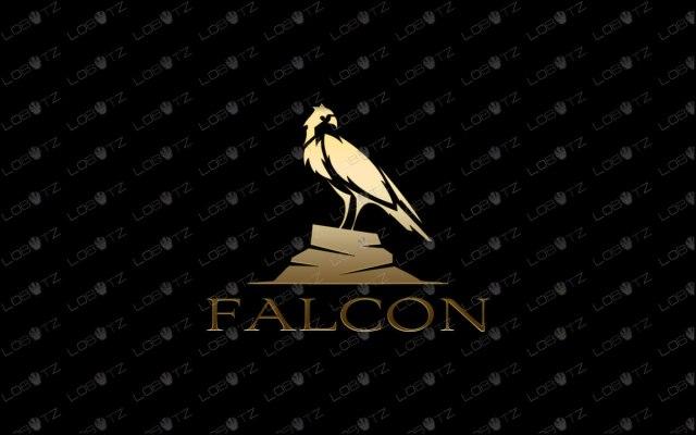 Falcon Logo For Sale   Creative & Simple Falcon Logo