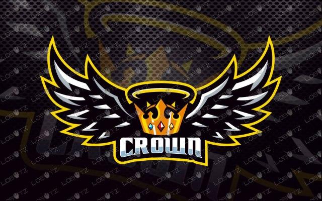 Crown Mascot Logo For Sale | Crown eSports Logo