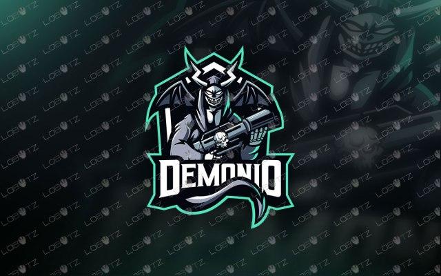 Devil Soldier Mascot Logo | Devil Soldier eSports Logo For Sale